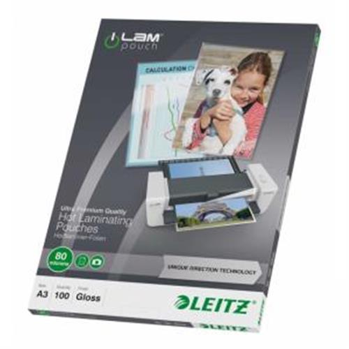 Laminovacie fólie Leitz A3 80 mic ES748500