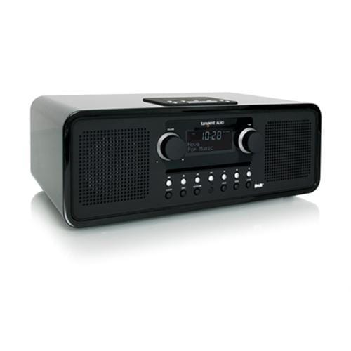 Rádio Tangent ALIO stereo CD/DAB+ s iPod/iPhone dokovacou stanicou čierne 21023