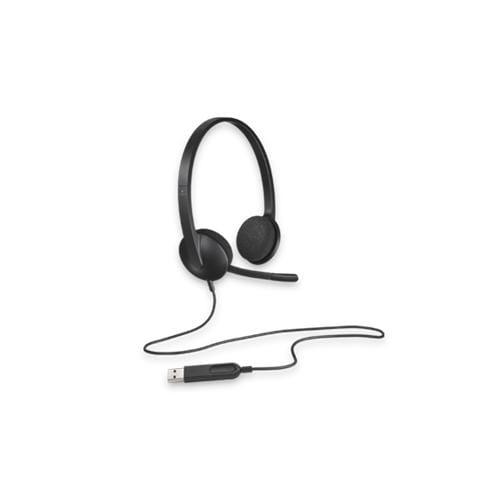 Headset Logitech H340 Stereo USB s mikrofónom 981-000475