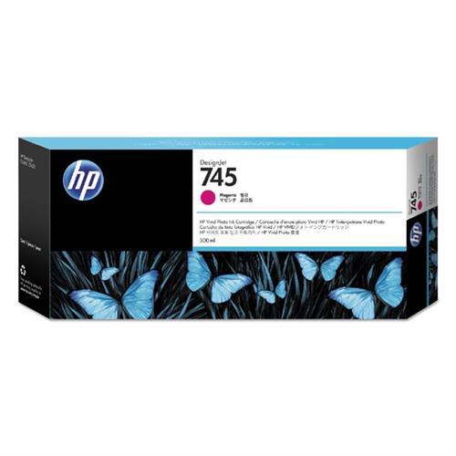 HP 745 300-ml Magenta Ink Cartridge F9K01A