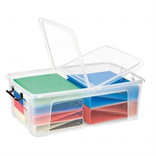 Plastový box s vekom 50l CP750110