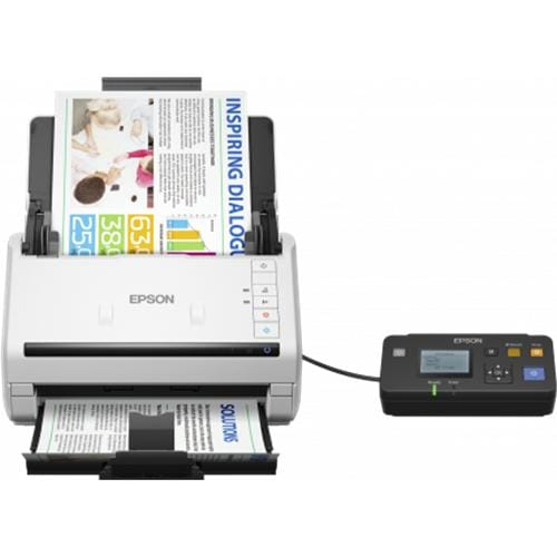 Skener EPSON WorkForce DS-530N, A4, 600 dpi, ADF, USB B11B226401BT