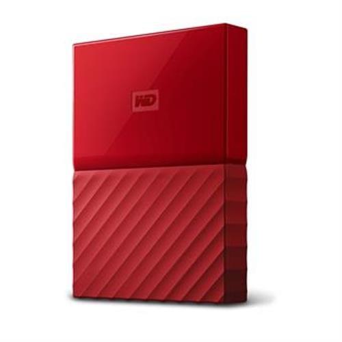 Ext. HDD WD My Passport 1TB, 2,5'', USB 3.0, červený WDBYNN0010BRD-WESN