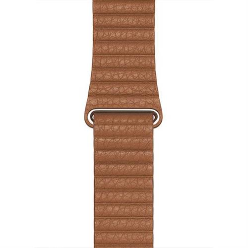 Apple Watch 44mm Saddle Brown Leather Loop - Large MXAG2ZM/A
