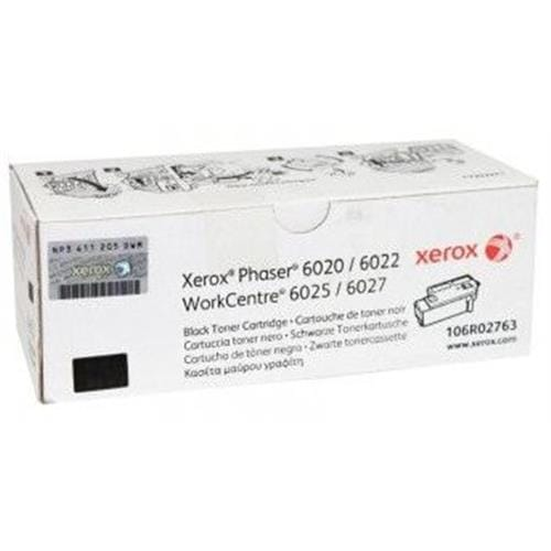 Toner XEROX 106R02763 black PHASER 6020/6022, WorkCentre 6025/6027