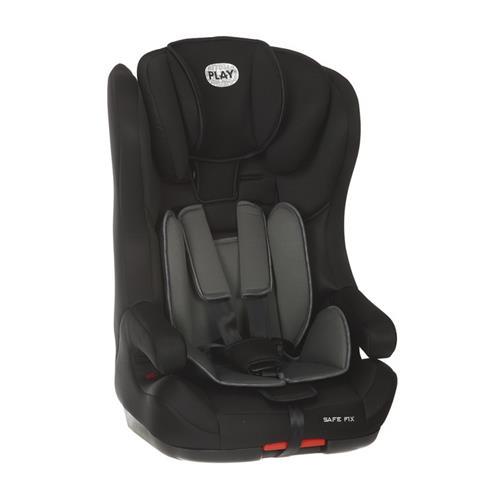 Play - Autosedačka Safe Fix 9-36 kg (2017) - Black/Grey 30523-184