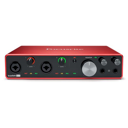 Focusrite Scarlett 8i6 3rd Gen  8 in  6 out USB audio interface (M) FR_ FR SCARLETT8i6 3G