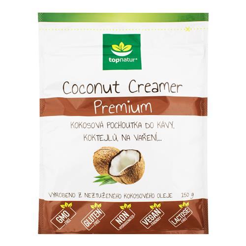 Pochúťka Coconut Creamer Premium 150 g TOPNATUR 532036