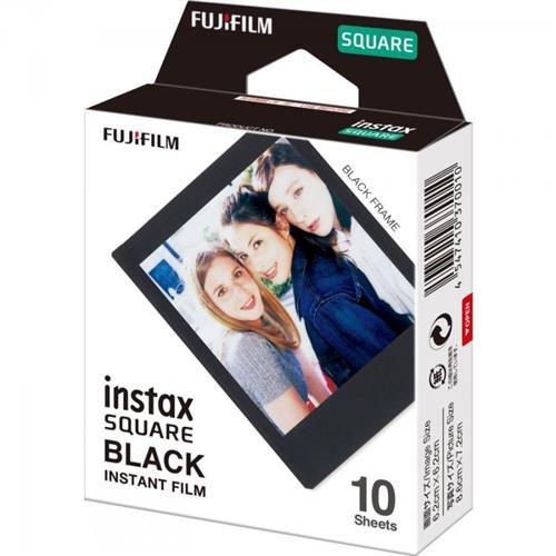 FUJIFILM Instax SQUARE 10LIST film Blk 16576532