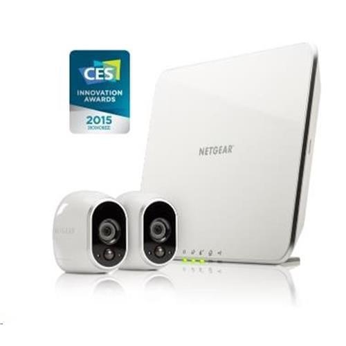 NETGEAR VMS3230 Arlo Security System 2 HD Cameras VMS3230-100EUS