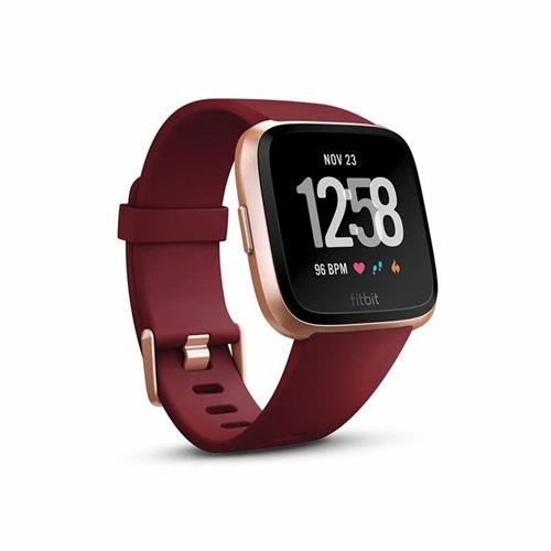 Fitbit Versa - Merlot Band / Rose Gold Case FB505RGRD-EU