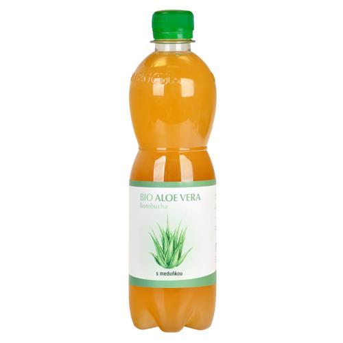 Kombucha Aloe Vera s medovkou 500 ml BIO STEVIKOM 570024