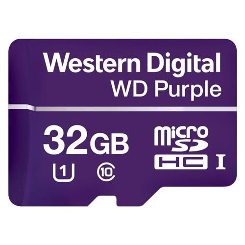 WD Purple microSDHC 32GB 80MB/s WDD032G1P0A