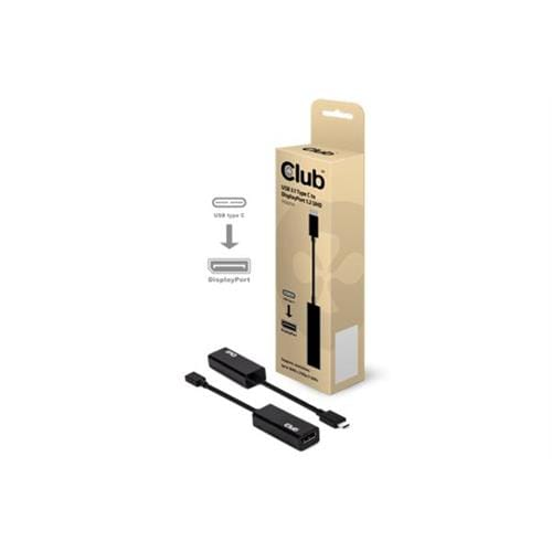 Club3D USB-C to DisplayPort 1.2 4K60Hz UHD Active Adapter CAC-1507