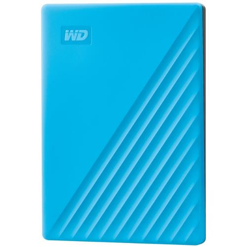 Ext. HDD 2,5'' WD My Passport 2TB USB 3.0. modrý WDBYVG0020BBL-WESN