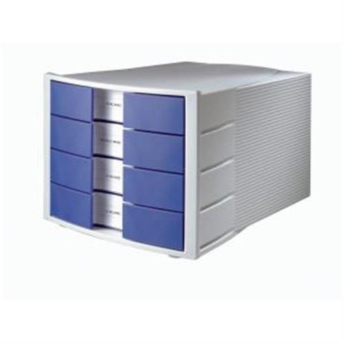 Zásuvkový box Impuls sivý/modrý HA101014