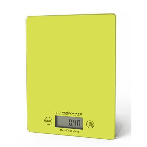 Esperanza EKS002G LEMON kuchynská váha, zelená EKS002G - 5901299914144