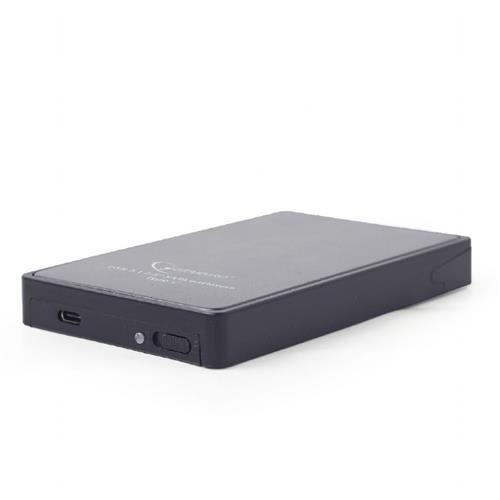 GEMBIRD externý box na 2.5' HDD, USB-C 3.1 EE2-U31S-1