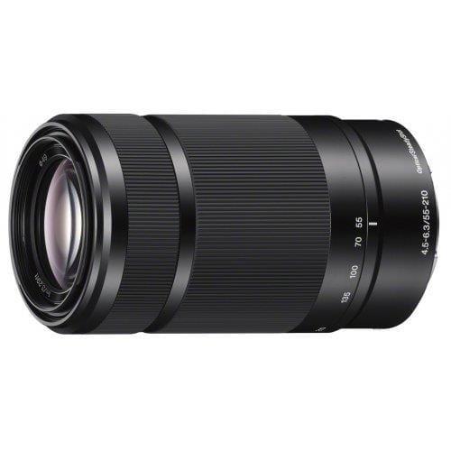 Sony objektív SEL-55210B, čierny bajonet E SEL55210B.AE
