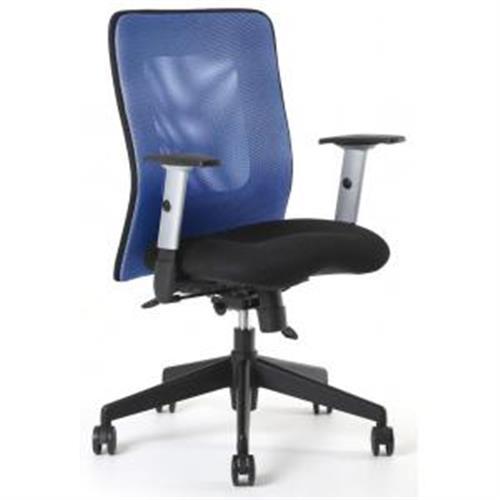 Kancelárska stolička CALYPSO modrá OF141411