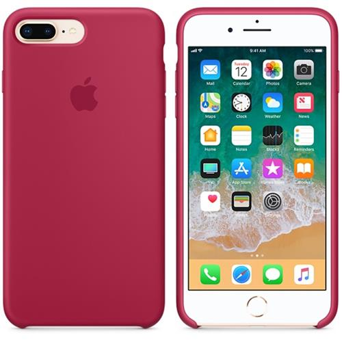 Apple iPhone 8 Plus / 7 Plus Silicone Case - Rose Red MQH52ZM/A