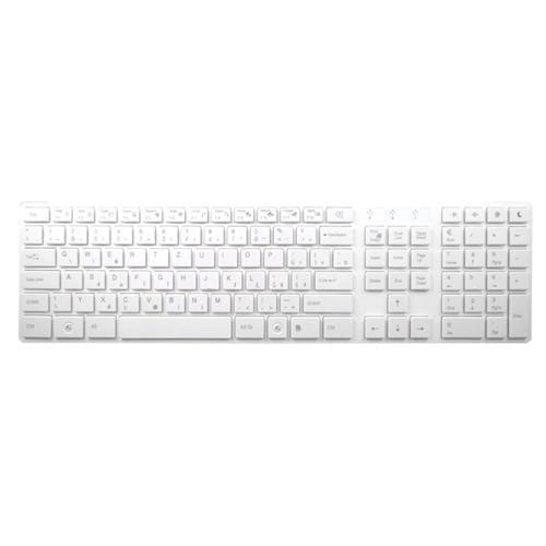 Klávesnica ARCTIC K381-W Czech Standard Keyboard White