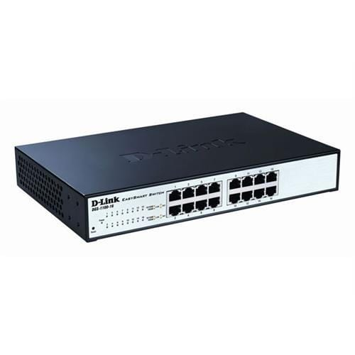 D-Link DGS-1100-16 16-port 1Gb EasySmart Switch
