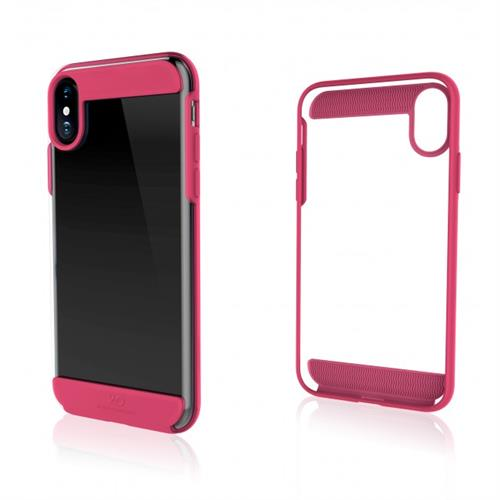 White Diamonds Innocence Case Clear pre iPhone X - Pink WD-1363CLR41