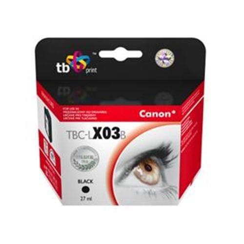Alternatívna kazeta TB kompat. s CANON BX-03 Black TBC-LX03B