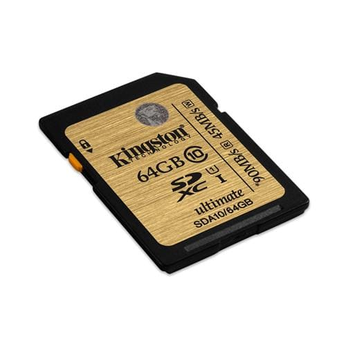 Kingston 64GB SDXC Class 10 UHS-I Ultimate SDA10/64GB