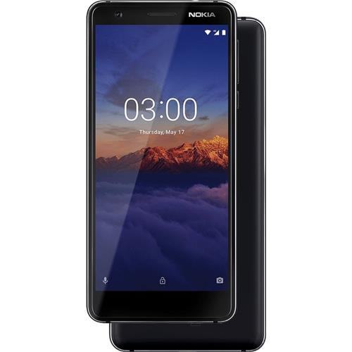 Nokia 3.1 Single SIM Black 11ES2B01A16