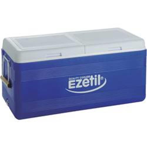Prenosná chladnička (autochladnička) Ezetil XXL 3-DAYS ICE EZ 150, 150 l, modrá, bílá, šedá 651410