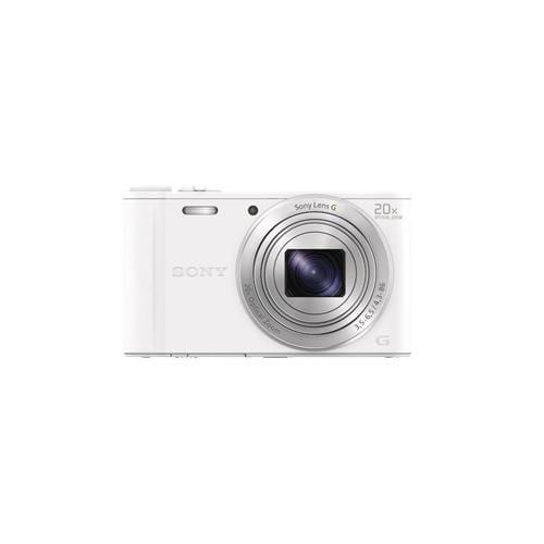"""Fotoaparát SONY DSC-WX350, 18,2Mpx, f/3.5-6.5, 20x zoom, 3.0""""LCD, biely DSCWX350W.CE3"""