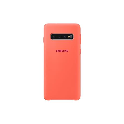 Samsung Silicone Cover S10 Berry Pink EF-PG973THEGWW