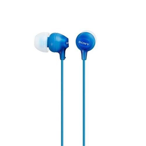 Slúchadlá SONY MDR-EX15LP do uší, Blue MDREX15LPLI.AE