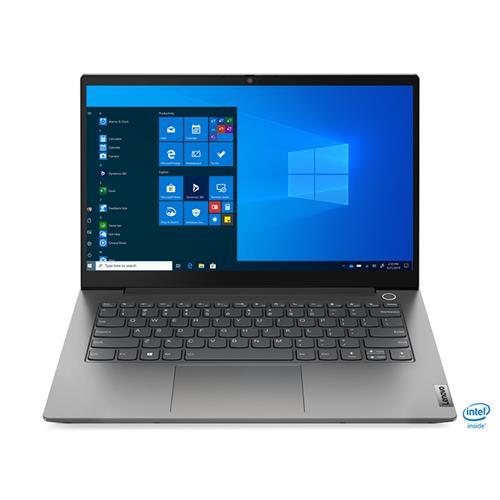 """LENOVO ThinkBook 14 G2 -Int. Core i3-1115G4@4.1GHz,14"""" FHD IPS,8GB,256SSD,Int. UHD ,HDMI,USB-C,cam,backl,W10H,1r cc,šedá 20VD00D1CK"""