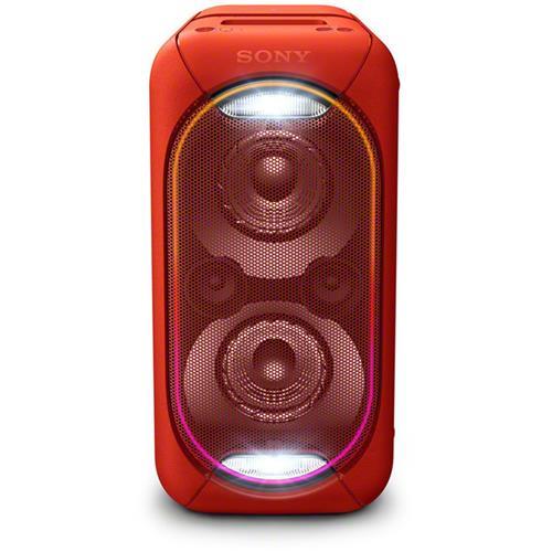 Sony Hi-Fi G-Tank GTK-XB60, USB, BT, NFC, červený GTKXB60R.CEL