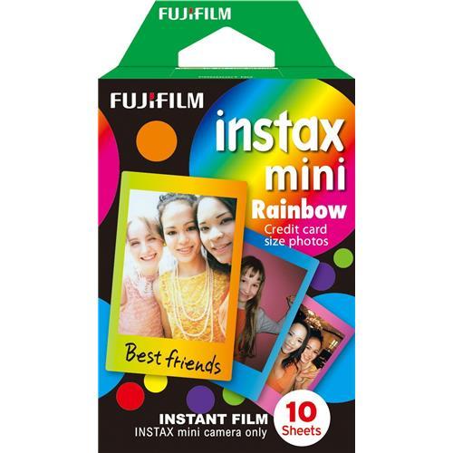 Fujifilm COLORFILM INSTAX mini 10 fotografií - RAINBOW 16276405