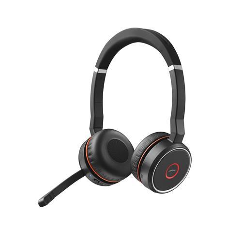 Headset Jabra Evolve 75, duo, USB-BT, MS 7599-832-109