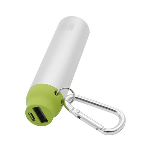 BOX Products 2000mAh Carabiner Pocket Charger - green BX-BPB2000GRN