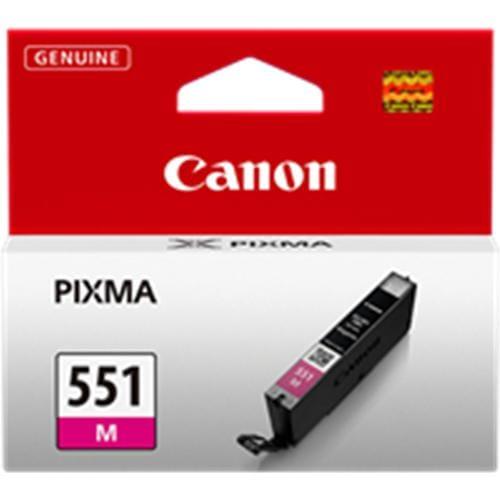 Kazeta CANON CLI-551M magenta MG 5450/6350, iP 7250 6510B001