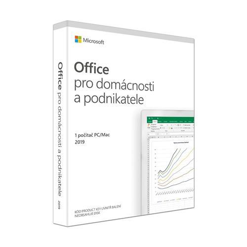 Office 2019 pre domácnosti a podnikateľov Win/Mac CZ T5D-03305