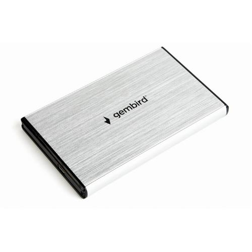 GEMBIRD externý box na 2.5' HDD, USB 3.0, strieborný EE2-U3S-3-S