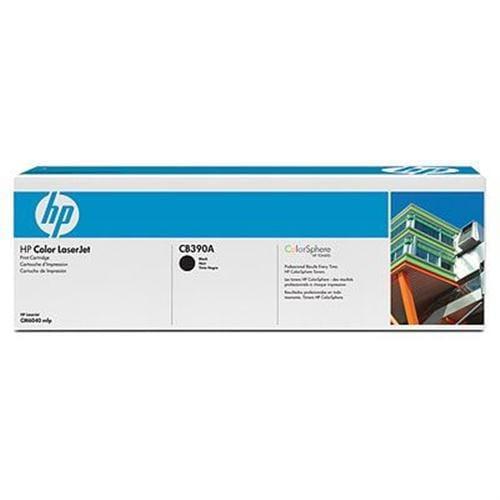 Toner HP CB390A Color LaserJet CB390A Black Print Cartridge