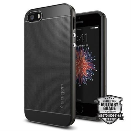 Spigen kryt Neo Hybrid pre iPhone SE - Gunmetal 041CS20184