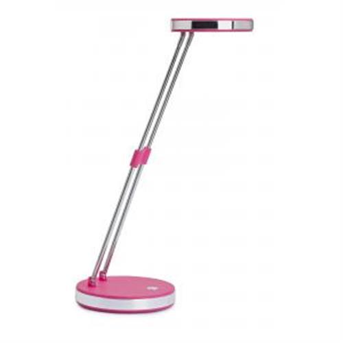 Lampa stolná LED MAUL Puck ružová MA201222