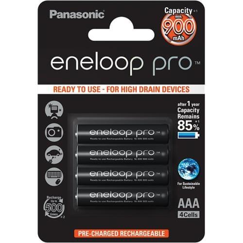 Panasonic Eneloop Pro AAA NiMH 1,2V 900mA BL4 11492