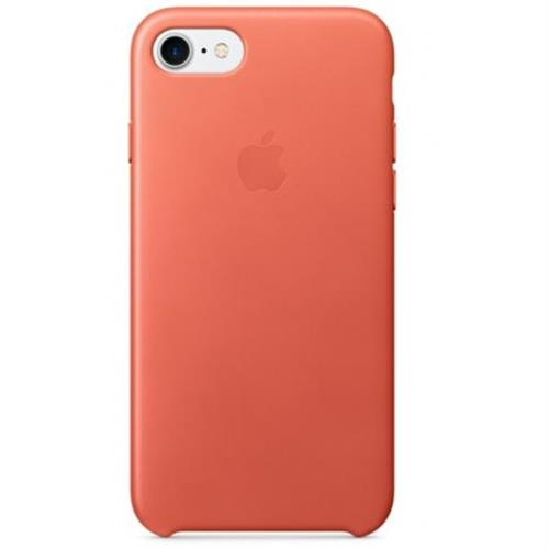 Apple iPhone 7 Leather Case - Geranium MQ5F2ZM/A