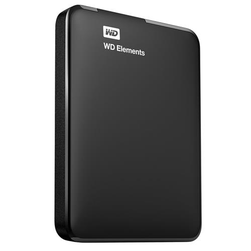 "Ext. HDD WD Elements Portable 500GB 2.5"" USB3.0 Čierny WESN WDBUZG5000ABK-WESN"