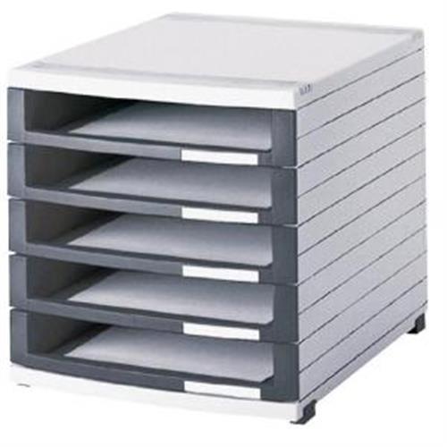 Zásuvkový box Contur 5 otvorený 50mm HA150501